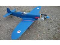 Rc spitfire plane