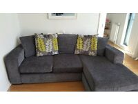 DFS corner sofa and arm chair in good condition