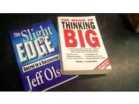 2 self help paperbacks