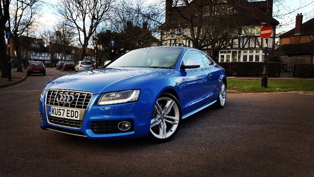 AUDI S V FSI QUATTRO Rare Manual Sprint Blue In - Audi s5