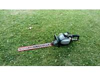 Macallister petrol hedge trimmer
