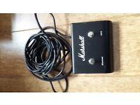 Marshall footswitch for amp good working condition