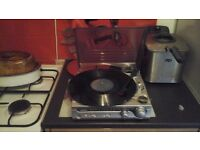 Bush record player / radio with built in speakers,