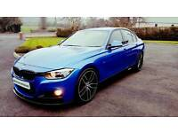 "2013 BMW 320D M SPORT...FULL M PERFORMANCE KIT...SAT NAV...20"" WHEELS...EXCELLENT FINANCE PACKAGES.."