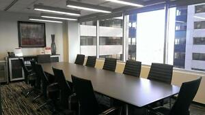 Downtown Professional Boardroom with everything you need!