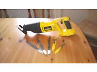 Used Dewalt DC385XRP 18 v cordless Reciprocating saw ( bare ) GWO, see photos & details