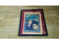 framed orchestral manoeuvres in the dark record mirror 1981