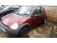 ford ka red mot expired spare or repairs or parts