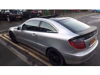 Mercedes w203 C200K Kompressor 2.0 Panoramic Sunroof