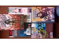PRICED TO GO FAB PRESENT COLLECTION OF 32NEW JAPANESE CARTOON/COMIC BOOKS P/B SOME SETS MANGA ETC