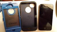 Bell iPhone 4s with defender otter box case