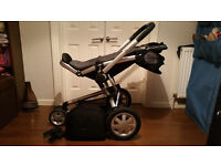 Quinny Buzz Travel System - Black and Grey - excellent condition