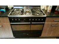 SMEG 90cm Gas Cooker with Electric Oven