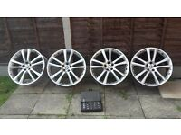 20 Jaguar genuine Senata alloy wheels