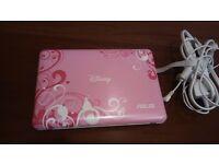 Pink Disney Princess Asus 8.9 Inches Eee PC MK90H Laptop