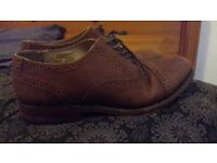 Samuel Windsor brogue shoes mens leather shoes