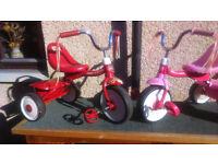 Toddler trike - Radio Flyer Fold 2 Go