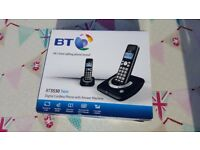 Two BT 3530 wireless phones plus answering machine