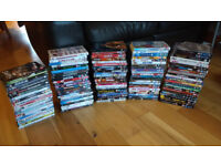 115 DVD's Bundle - Movies, TV Shows, Sports Shows, Stand-ups - Various Titles