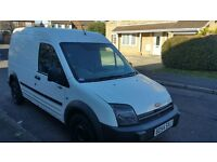 54reg FORD TRSANSIT CONNECT LWB LONG MOT DVD