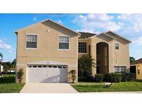 Stunning 6 Bed Luxury Florida Villa Rental in Orlando, 20 mins to Disney