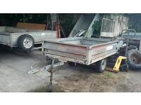 Excellent conway glide along 6ftx4ft dropside trailer unbraked 750kg led lightsnovat