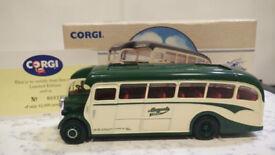 CORGI CLASSIC COMMERCIALS DIECAST MODEL No 97210 LEYLAND TIGER MAYPOLE COACH