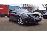 Mercedes-Benz C Class 2.1 C220 CDI Sport 4dR AUTOMATIC DIESEL (SO SWAG REG INCLUDED) 09 reg Saloon