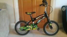 "Ben 10 BMX Bike 14"""