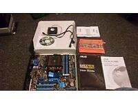 AMD FX-4350 4.2GHz Quad-Core Processor & M5A78L-M/USB3 Motherboard