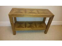 Marks & Spencer BAILEY Console Hallway Table, RRP £279; excellent condition.