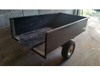 Steel Trailer with removable tailgate