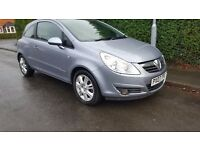 VAUXHALL CORSA IMMACULATE,LOW MILES,FULL SERVICE HISTORY,2 KEYS,DRIVES LIKE NEW, CLEAN INSIDE OUT.