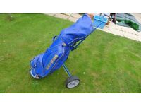 Ben Sayers set of Golf Clubs with bag and trolley