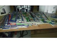 Good condition lots of rangers programmes