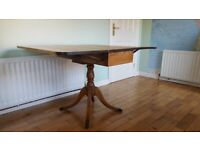 Antique Canadian hard wood small table