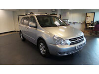 2008 08 KIA SEDONA 2.9 GS 5d 183 BHP*FINANACE AVAILABLE*PART EX WELCOME*7 SEATER*