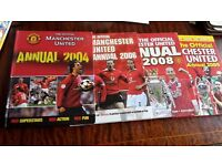 Manchester United Annuals (2004, 2006, 2008 and 2009