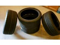 4 x Michelin Pilot Super Sport tyres