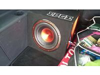 SUBWOOFER WITH BUILT IN AMPLIFIER EDGE