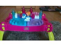 Megablocks lil Princess table