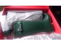 Men's Hunter Original Green Tall Wellington Boots size 9 (43).