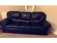 2 Leather sofas cheap
