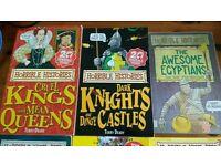 Horrible Histories bundle 12 books