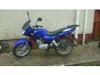 As js 125 E2 motorbike and lots of gear