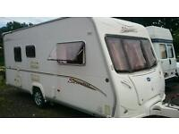 2006 Bailey vermont 2 berth light weight with fitted motor-mover and extras