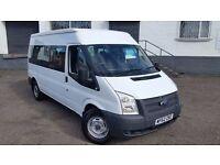 Ford Transit 2.2 TDCi 350 L Medium Roof Bus RWD 4dr (EU5, HDT, 14 Seat, LWB) - NO VAT