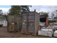 Storage shipping mini containers 8 ft x 6 ft, ex MOD