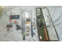 JOBLOT FISHING ITEMS RODS REELS TACKLE