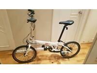 Dahon vitesse P18 folding bike like Brompton Tern carrera